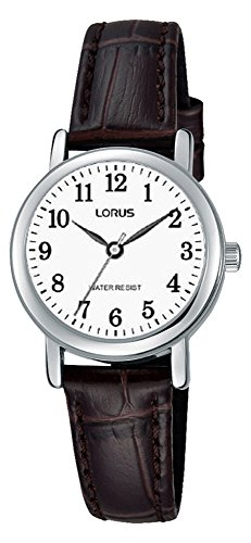 Lorus Womens Analogue Classic Quartz Watch with Leather Strap RRS11WX9