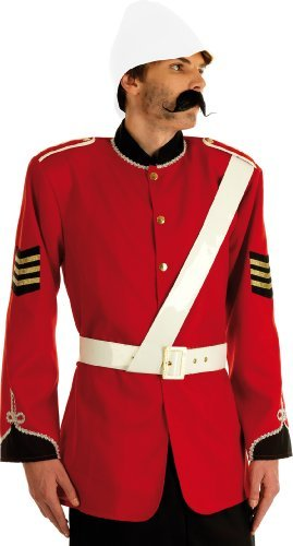 Boer War British Soldier (Jacke Kostüme Militärische Erwachsenen)