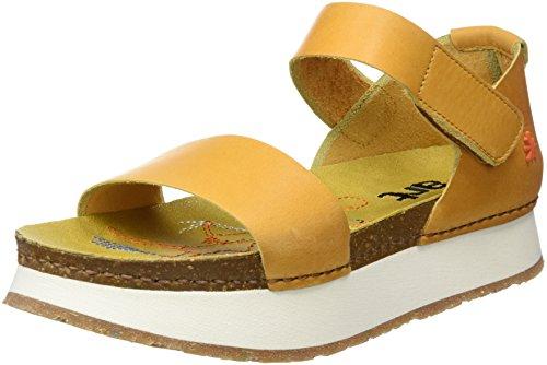 Sandalias amarillas deportivas con Punta Abierta