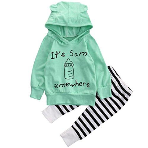 Conjuntos de ropa, Dragon868 Nueva sudadera bebé estilo Tops + pantalones...