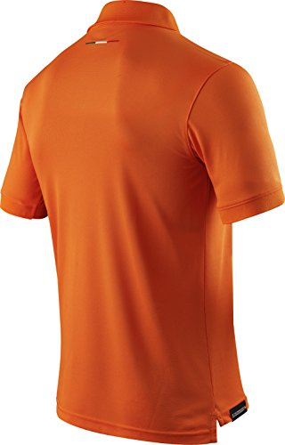 X-BIONIC for AUTOMOBILI LAMBORGHINI Herren Tech Style Pro Man 63 Ow Short Sleeves Polo Shirt Orange