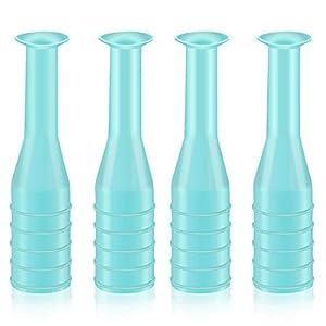 Bocotoer Kontaktlinsenentferner Kolbenentferner für weiche Hartlinsen 4er Pack