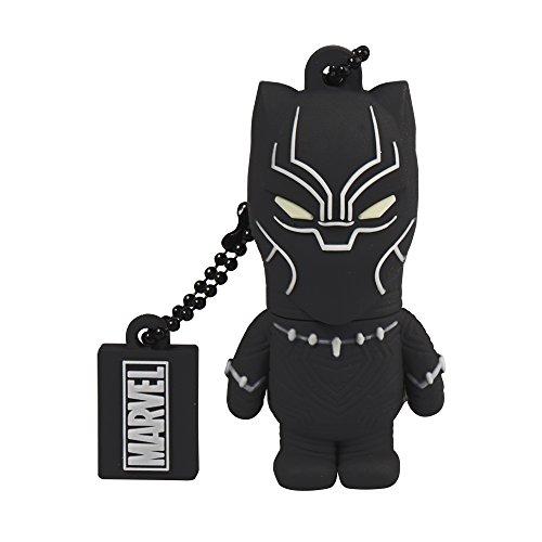 Tribe marvel black panther memoria usb 2.0 flash drive chiavetta da 32 gb