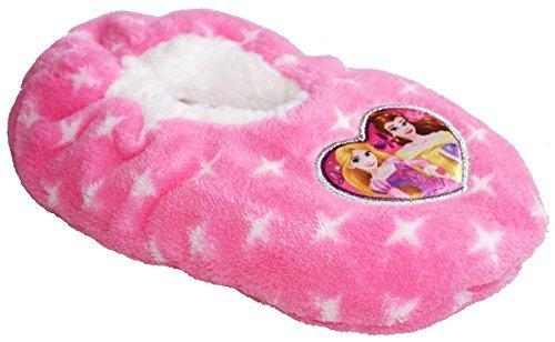 Filles Princesse Disney Raiponce Duveteux D'Intérieur Pantoufles UK Chaussure Tailles DE 7.5 Pour 13