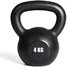 KAKSS Cast Iron Kettle Bell for Strength and Conditioning/ Fitness for Home Gym