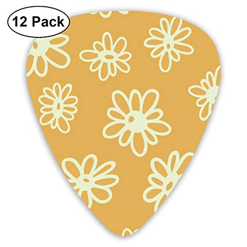 Celluloid Guitar Picks - 12 Pack,Abstract Art Colorful Designs,Welcome To Fabulous Las Vegas Sign United States Nevada With Starburst Stripes,For Bass Electric & Acoustic Guitars. -