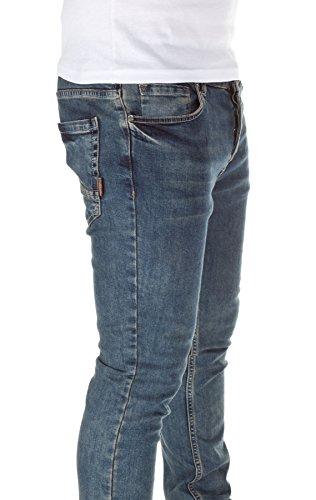 WOOSAH Homme Jeans Artanis Slim Fit blue (11162)