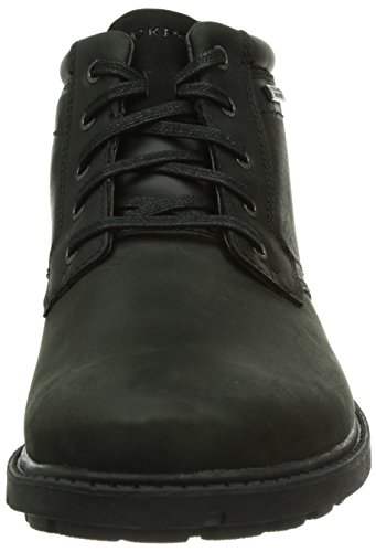 Rockport Rgd Buc Wp Boot, Boots homme Noir (Black Ii)