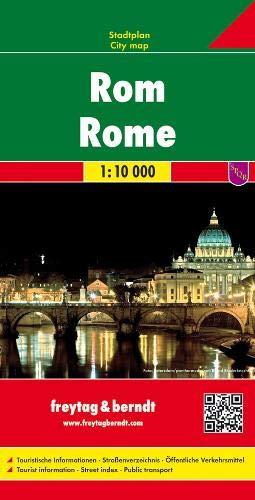 Rom, Stadtplan 1:10.000: Stadskaart 1:10 000