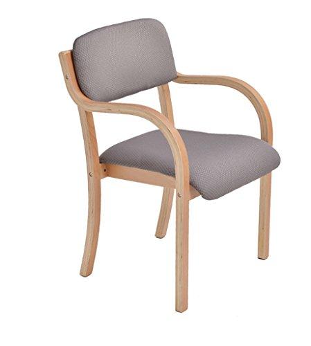 Hohe Rückenlehne Aus Bugholz Stuhl (GXJ-stool Bürostuhl, Bugholz Stuhlgestell Stapelbares Stoffkissen Schlafzimmer Wohnzimmer Make-up Stuhl Hoher Fußschemel Höhe 83CM (Size : 53 * 83CM))