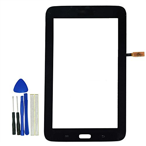 Klesti Ersatz Touch Panel Screen Ersatzteile für Samsung Galaxy Tablet 3Lite SM-T110T110(Schwarz)