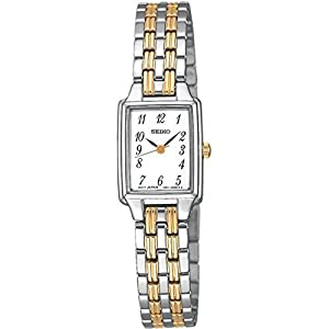 Seiko Womens Analogue Classic Quartz Watch with Stainless Steel Strap SXGL61P9