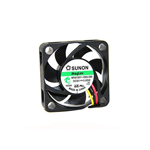 MF40100V1-G99-A Fan DC axial 5VDC 40x40x10mm 13.52m3/h 27.3dBA Vapo SUNON (X-rating)