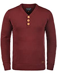 BLEND Legolas Jersey De Punto Suéter para Hombre con V-Neck