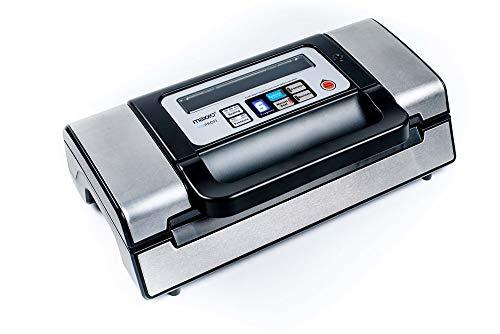 Vacuumiergerät VM Profi Folienschweißgerät 100{e80629aed52491f44dd8d9e0623ab06d39ba876108d4c3f4136338771ece3030} Automatik 3 Geschwindigkeitsstufen 20 Liter/Minute, doppelte Schweißnaht, vielseitige Funktionen, einfach zu bedienen