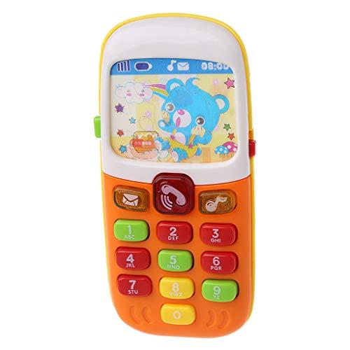 Senoow Baby-Handy-pädagogische Lernspielwaren elektronisches Spielzeug-Telefon-Musik-Spielzeug