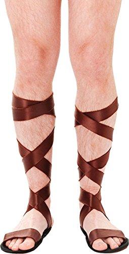 Erwachsene Warrior Ägyptisch Ausgefallen Party Römisch Griechisch Gladiator Antike Sandalen (Kostüme Ägyptische Griechisch Römischen)