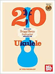 20 Pieces From Briggs' Banjo Instructor (Mackillop) Ukulele Book/CD