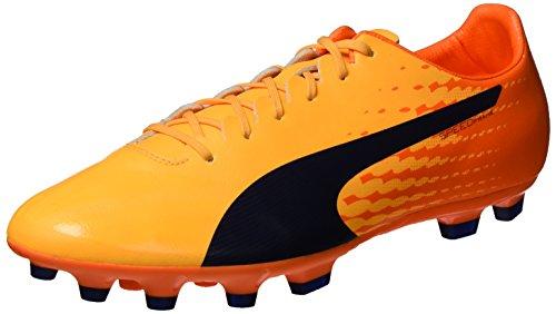 Puma Evospeed 17 Sl S Ag, Chaussures de Football Homme, Jaune (Ultra Yellow-Peacoat-Orange Clown Fish 03), 44 EU