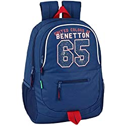 Benetton UCB Boy Oficial Mochila Escolar 320x160x440mm