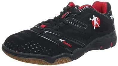 Kempa Stride 200843801, Herren Sportschuhe - Handball, Schwarz (schwarz/rot), EU 37 (UK 4) (US 4.5)