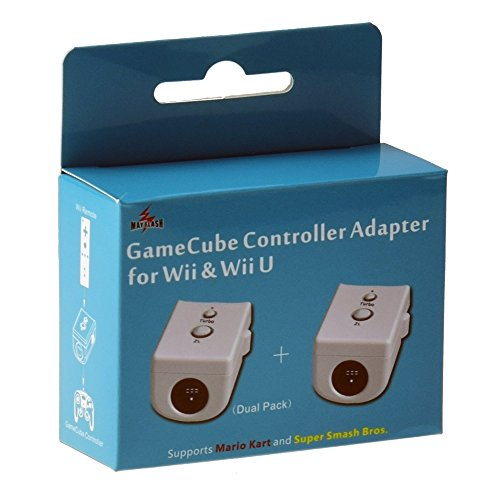 Mayflash Dual Pack GameCube GC Controller Adapter Converter para Wii y Wii U