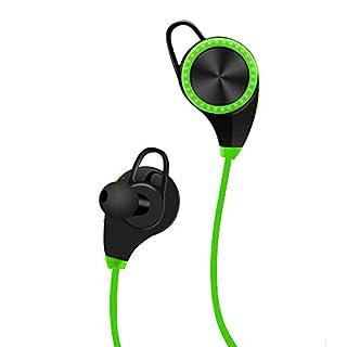 abestair Technologie Wireless Nackenbügel Kopfhörer, In-Ear-Geräuschisolierende Ohrhörer mit Mikrofon & Stereo für Sport mit Attraction