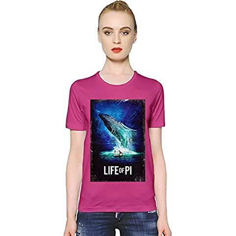 Life Of Pi Poster T-shirt donna Women T-Shirt Girl Ladies Stylish Fashion Fit Custom Apparel By Slick Stuff
