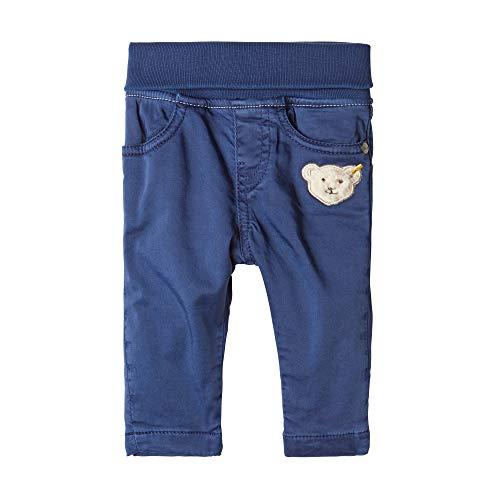 Steiff Baby-Jungen Jeanshose Hose, Blau (BLACK IRIS 3032), 74 (Herstellergröße:74)