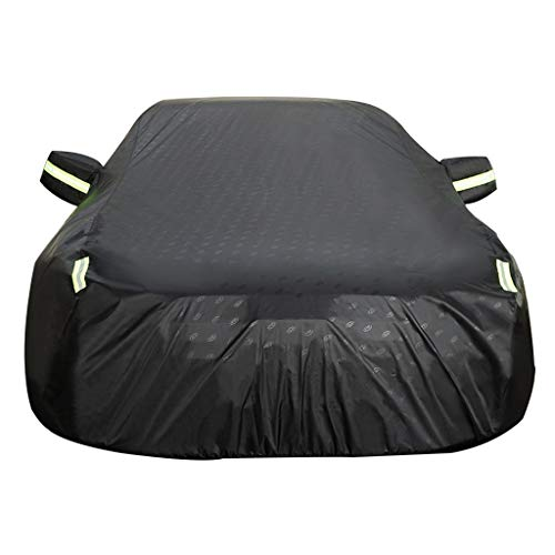 CAOYU Car Hood Car Waterproof Cover, Full-size Car Cover, Universal, Rugged, Outdoor (Color: A, Size: Citroen Elysee)