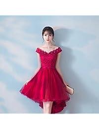 0876397bc1 MOM Corto Y Largo Después del Vestido de Dama de Honor Vestido de Dama de  Honor