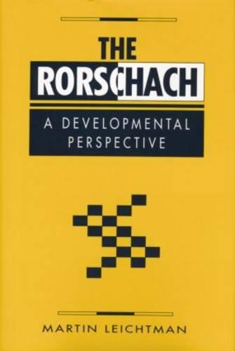 The Rorschach: A Developmental Perspective
