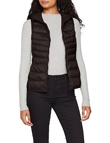 ONLY Damen Waistcoat Onltahoe Shimmer CC OTW, Grau Phantom, 40 (Herstellergröße: L)