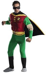 Rubies 3 888078 l - Disfraz de Robin para hombre (adulto) (talla L)