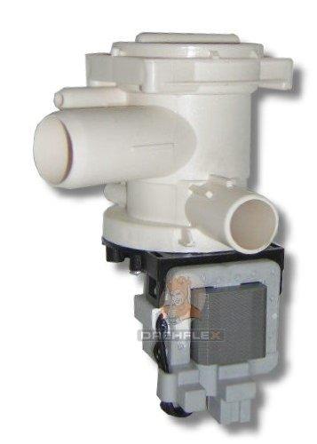 DREHFLEX® - Bosch Siemens Constructa Laugenpumpe Pumpe passend für Teile-Nr. 144487 (144344, 141326, 141647 142154, 144098) - alternativ - WFF WFK WFE WOH WFI WFB