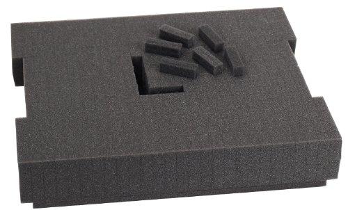 Bosch foam-201vorgeschnittenen Schaumstoff-Einsatz 136Für Gebrauch mit l-boxx2, Teil von Click und Go Mobile Transport System (Tray Mobile Speicher)