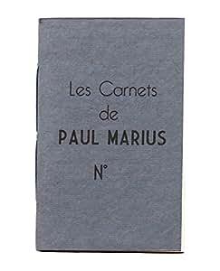 RECHARGE CARNET L papier artisanal recyclé 100 pages adapté pour carnet PAUL MARIUS