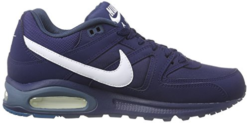 Nike Air Max Command, Sneakers basses homme Bleu (Midnight Navy/White-Squadron Blue)