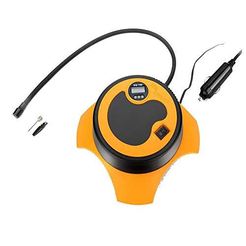 Compressore d'aria per auto display digitale, compressore d'aria portatile ad alta potenza dc 12v con funzione di rilevamento pressione pneumatici