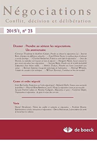 Negociations 2015/1 N.23