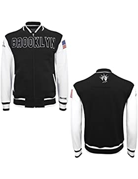 Kappa Kappa EROI JKT BROOKLYN BLACK-WHITE