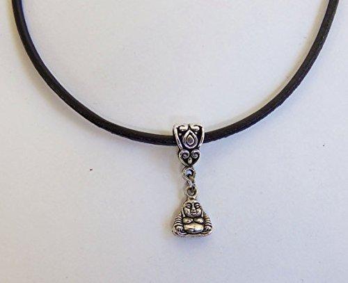 Tiny Buddha Halskette, Buddah Charme, Boho Hippie Schmuck ()