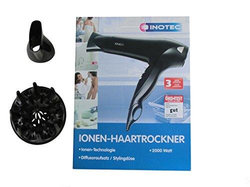Haartrockner GT-HDI-01 mit Ioneneffekt, Aufsatz und Diffusor 2000 Watt