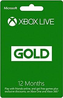 Xbox Live Gold 12 Month Membership Card (Xbox One/360) (B00FXJV03E)   Amazon price tracker / tracking, Amazon price history charts, Amazon price watches, Amazon price drop alerts