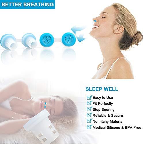 Zoom IMG-1 dilatatore nasale antirussamento anti russare
