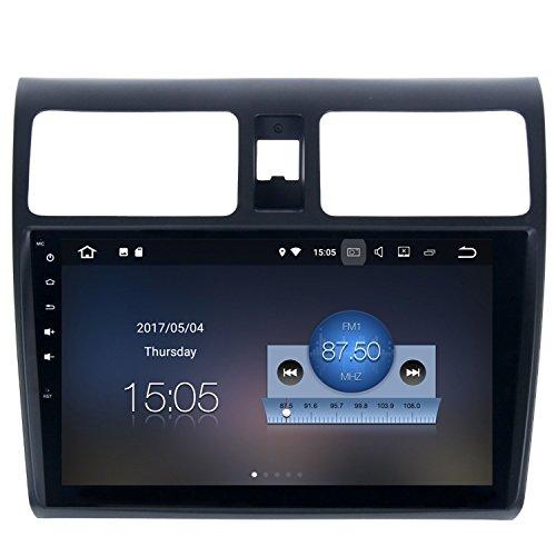 RoverOne Android 7.1 Système Voiture GPS Player Pour Suzuki Swift 2005-2010 avec Autoradio Radio Stéréo Radio Bluetooth HDMI Miroir Lien Quad Core Système Multimédia