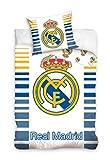 2 tlg Bettwäsche Kinderbettwäsche 140x200+70x80 948 Real Madrid