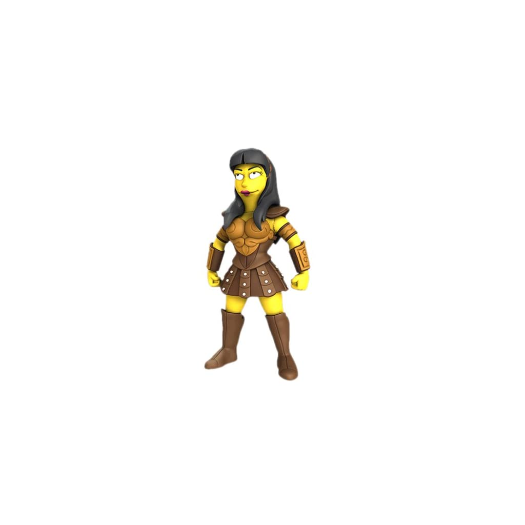 NECA Simpsons 25th Anniversary - Lucy Lawless 12,5 cm Action Figure Series 2 10