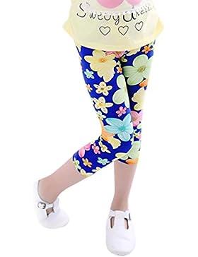 Pantalones nina Switchali infantil bebé niñas Multicolor cosechó los pantalones impresión de la flor polainas...