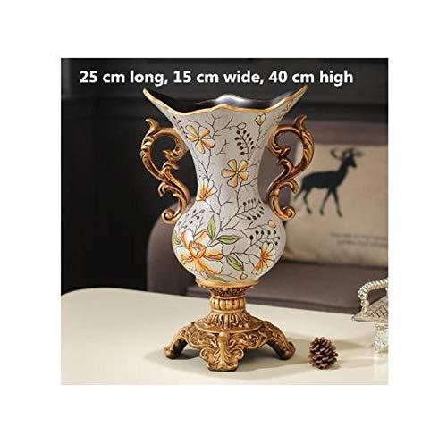 Lou Chapman Klassiker der europäischen und amerikanischen Stil Keramik-Vasen Home Office Tischdekorationen kreative große Vasen Hochzeitsgeschenke, N -